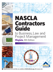 Virginia Contractors Guide to Business, Law and Project Management