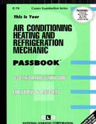 AIR CONDITIONING, HEATING,& REFRIGERATION MECHANIC (Ships direct from PASSBOOKS via USPS)