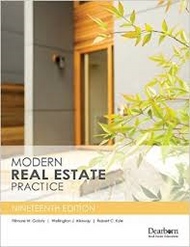 Modern Real Estate Practice 19th Edition