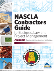 Alabama Residential Construction Business and Project Management 3rd Edition