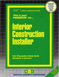 Interior Construction Installer(Ships direct from Passbooks via USPS)
