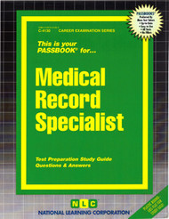 Medical Records Specialist(Ships direct from Passbooks via USPS)