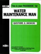 Water Maintenance Man(Ships direct from PASSBOOKS via USPS)