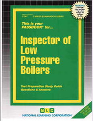 Inspector of Low Pressure boilers(Ships direct from PASSBOOKS via USPS)