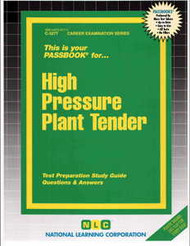 High Pressure Plant Tender(Ships direct from PASSBOOKS via USPS)