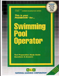 Swimming Pool Operator(Ships direct from PASSBOOKS via USPS)