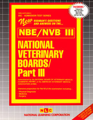 National Veterinary Boards-PartIII(Ships direct from PASSBOOKSvia USPS)