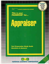 Appraiser(Ships direct from PASSBOOKS via USPS)