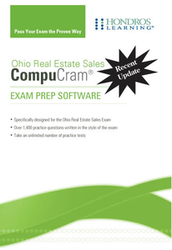 CompuCram: Real Estate Sales Exam Prep- National + Ohio
