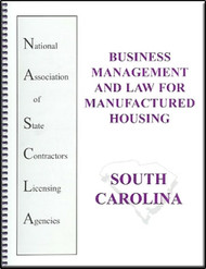South Carolina Edition Business Management and Law for Manufactured Housing