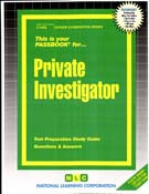 Private Investigator(Ships direct from  PASSBOOKS via USPS)
