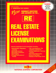 Real Estate License Examinations(Ships direct from PASSBOOKS via USPS)