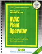 HVAC PLANT OPERATOR(Ships direct from PASSBOOKS via USPS)
