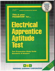 Electrical Apprentice Aptitude Test(Ships direct from PASSBOOKS via USPS)