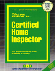 Certified Home Inspector(Ships direct from Passbooks via USPS)