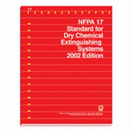 NFPA 17:  Standard for Dry Chemical Extinguishing Systems 2013