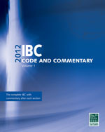 2012 International Building Code Commentary Volume 1