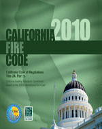 2010 California Fire Code, Title 24 Part 9