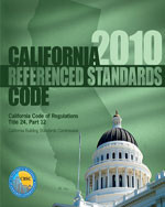 2010 California Referenced Standards Code, Title 24 Part 12