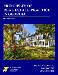 Principles of Real Estate Practice In Georgia - 1st Edition - PDF Version
