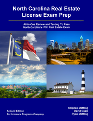 North Carolina Real Estate License Exam Prep 2nd Edition - PDF Version