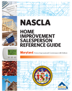 Maryland Home Improvement Salesperson Reference Guide (5th Edition)