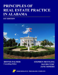 Principles of Real Estate Practice in Alabama - 1st Edition