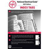 NFPA 70 National Electrical Code 2017 Tabs