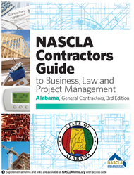 NASCLA - Alabama General Contractors Business and Project Management - 3rd Edition