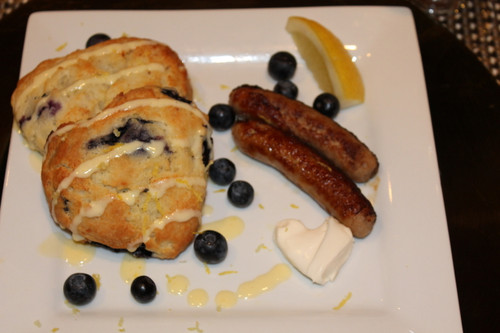 Blueberry, Lemon, Mascarpone