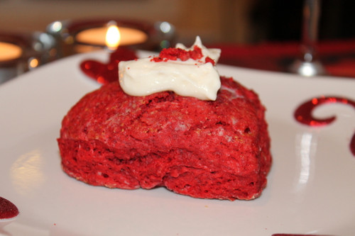 Amaretto Red Velvet w/White Chocolate Cream Cheese Ganache