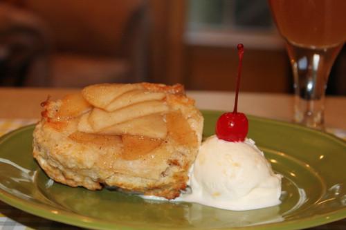 Apple Bottom Baked