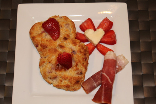Strawberry Stuffed Brie