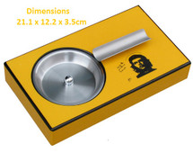 Yellow Single Cigar Ashtray - Che