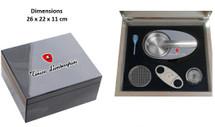 Humidor Gift Set - lamborghini Design