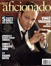 Cigar Aficionado Magazine - August 2015