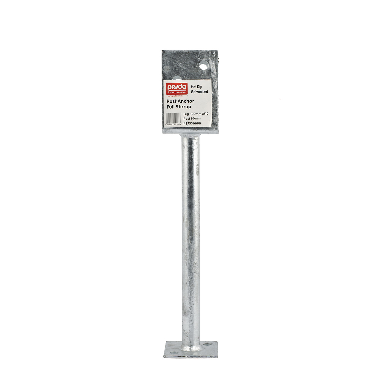 post support saddle 300x90mm pryda banner mitre 10