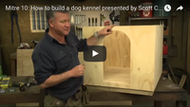 Video: How to Build a dog kennel
