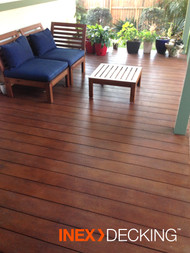 INEX COMPOSITE DECKING BOARDS 140mm x 19mm x 2700m. per length