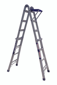 LADDER STEP EXTEND W/TRAY 135KG BXS20 4.5M BAILEY