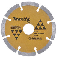 Blade diamond segmented rim 105mm a-84187 makita
