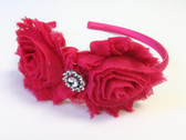 Shabby Flower Headband