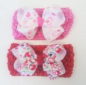 V. Crochet w/ Bow