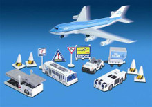 Premier Planes KLM Airport Playset