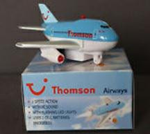 Premier Planes Thompson Fun Plane In Airline Packaging