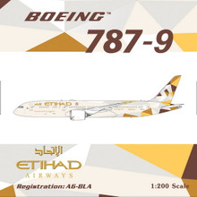 Phoenix Etihad Airways Boeing 787-9 1/200