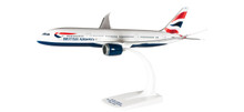 Herpa Snap-Fit British Airways Boeing 787-8 Dreamliner 1/200