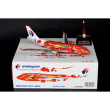 Blue Box Malaysia Boeing 747-400 'Hibiscus' 9M-MPD 1/200