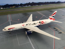Eagle British Airways Boeing 777-200ER 'Great Festival of Creativity in Shanghai' 1/200