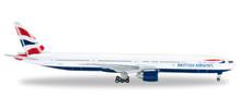 Herpa British Airways Boeing 777-300ER  1/500